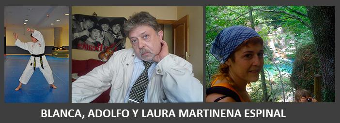 Fotos de Blanca, Adolfo y Laura
