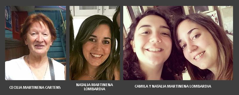 cECILIA, nATALIA Y cAMILA